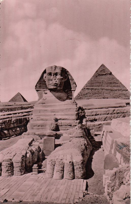 EGYPT CHEOPS CHEFREN AND MYKERINOS PYRAMYDS SPHINX