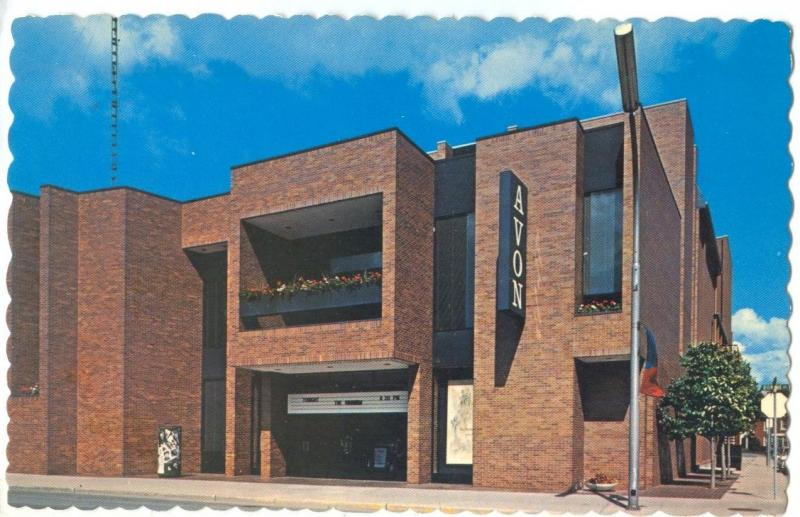 Canada, The Avon Theatre, Ontario, unused Postcard