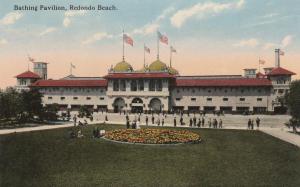 Bathing Pavilion at Redondo Beach CA, California - DB