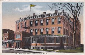 PLATTSBURGH, New York, PU-1918; Witherill Hotel
