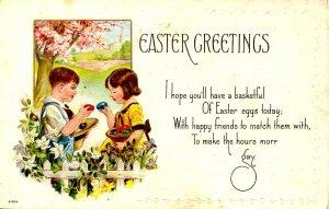 Greeting - Easter.   (children)