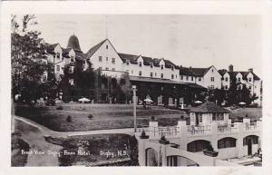 RP, Front View Digby Pines Hotel, Digby, Nova Scotia, Canada, PU-1957