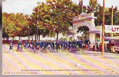 Illinois - Seconbd Regiment of Illinois 1910