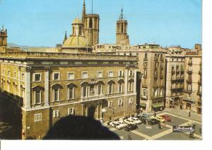 Postal 037896 : Barcelona. Palau de la Generalitat. Plaza de San Jaime