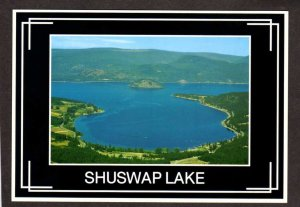 BC Shuswap Lake Copper Island British Columbia Canada Postcard Carte Postale
