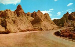 South Dakota Badlands National Monument At Top Of Big Foot Pass