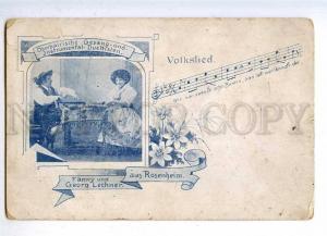 188120 FANNY GEORG LECHNER National Musician Vintage PC