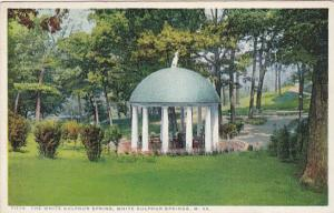 WHITE SULPHUR SPRINGS, West Virginia, PU-1924; The White Sulphur Springs