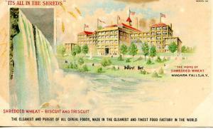 Advertising - Shredded Wheat, Niagara Falls, NY