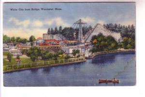 Roller Coaster, Fair Rides, Lighthouse, White City,  Worcester Massachusetts