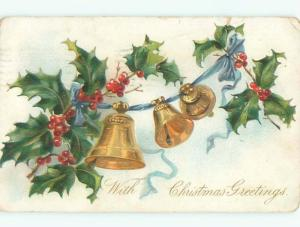 Divided-Back CHRISTMAS SCENE Great Postcard W9067