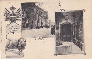 VERNOA , Italy , 1890s  ; Circolo Militare VERONA