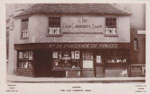 RP; The Old Curiosity Shop, Portsmouth Street,  Inmortalized by Charles Dicke...