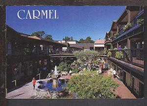 Shopping Complex Carmel by the Sea CA Postcard BIN