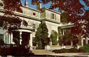 New York Hyde Park Franklin D Roosevelt National Historic Site Roosevelt Home