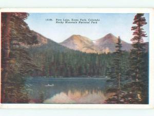 W-Border FERN LAKE AT ESTES PARK Denver Colorado CO W5727