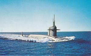 Nuclear Missle Submarine USS THOMAS A. EDISON , 50-70s