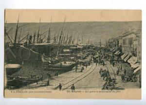 152050 Izmir Turkey Smyrna SMYRNE Docks and Harbour movement