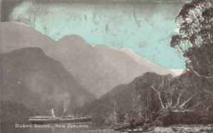 Dusky Sound , New Zealand , 00-10s ; Steamship
