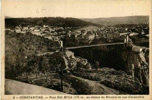 CPA AK Constantine Pont Sidi M'Cid ALGERIE (748774)