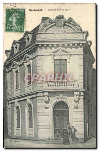 Old Postcard Bank Caisse d & # 39Epargne Realmont