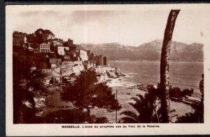 L'Anse du Prophete vue du Parc de la Reserve,Marseille,France BIN