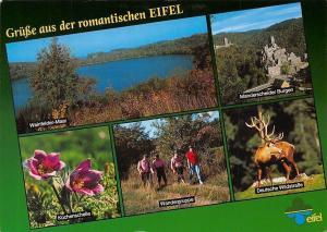 Gruesse aus der romantischen Eifel, Weinfelder-Maar, Wandergruppe Burgen