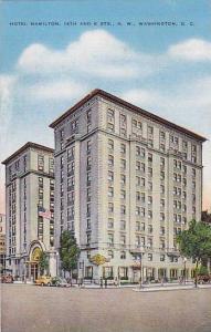 Hotel Hamilton, 14th & K Streets, Washington, D.C., 1930-1940s
