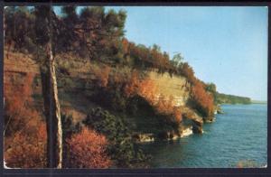 Pictured Rocks,Lake Superior Near Munising,MI BIN