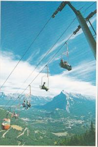 Canada Banff Mount Norquay Chairlift
