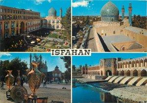 Post card Iran Isfahan several aspects and sights