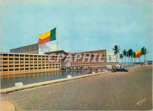 Postcard Modern Cotonou Palace of the Presidency of the Republic of Dahomey F...