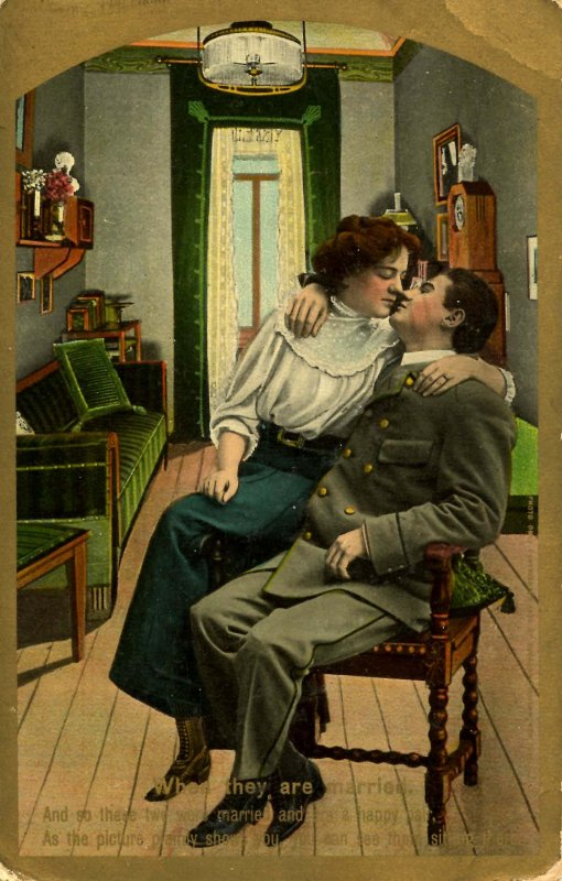 Romantic Couple - Married