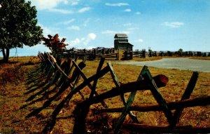 Virginia Blue Ridge Parkway Rail Fences At Groundhog Mountain
