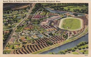 Massachusetts Springfield Aerial View Of Eastern States Exposition Grounds