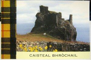Scotland Caisteal Bhrochail Brochel Castle - unposted
