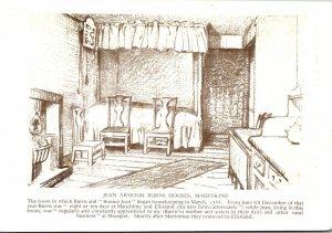 Scotland Mauchline Jean Armour Burns Houses