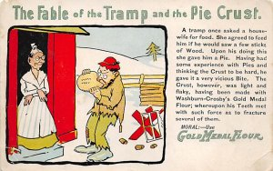 Advertising Post Card Gold Medal Flour Unused
