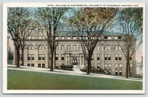 Madison~University of Wisconsin~Hillside View: The College of Engineering~1920s