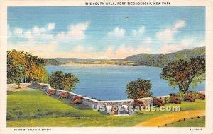 South Wall - Fort Ticondergoa, New York