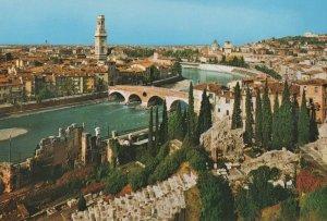 Panorama General view Allgemeine Ansicht Vintage Postcard