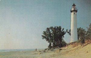 MICHIGAN, 1950-1960's; Little Cape Sable Lighthose