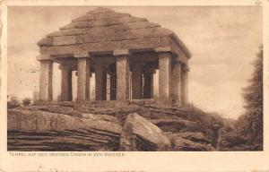 BG36792 tempel auf dem grossen donon in den vogesen   france