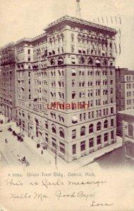 pre-1907 UNION TRUST BLDG. DETROIT, MI 1907