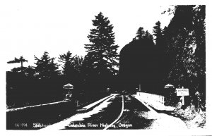 Oregon Columbia River Highway Shepherds Dell Real Photo