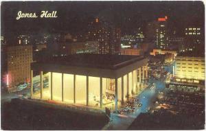 Jones Hall for the Performing Arts Houston Texas TX, Chrome