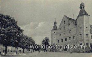 Rathaus Burglengenfeld Germany Unused