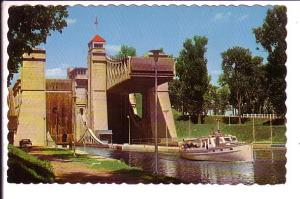 Hydraulic Lift Lock, Peterborough Ontario,