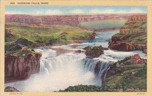 Shoshone Falls Idaho 1943