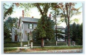 Postcard Thoreau or Alcott House, Concord MA G33